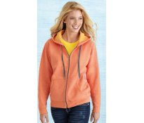 Ladies' Vintage Full Zip Hooded
