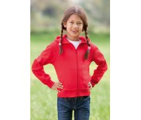 Junior Tagless® Zipped Hoodie Or