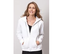 Ladies' Heavy Full Zip Hooded Sw
