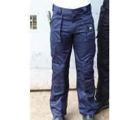 Polycotton Cargo Trousers Long 3