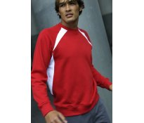 Kariban Bi-colour Raglan Sweatsh