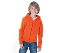 Kids' Hooded Zip Sweat