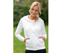 Ladies' Tagless® Zipped Hoodie O
