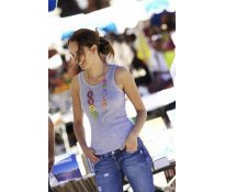 Kariban Lisa Ladies Ribbed Vest